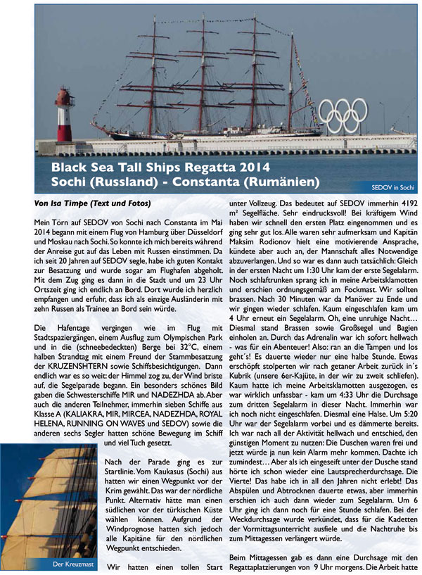 Black Sea Tall Ships Regatta 2014